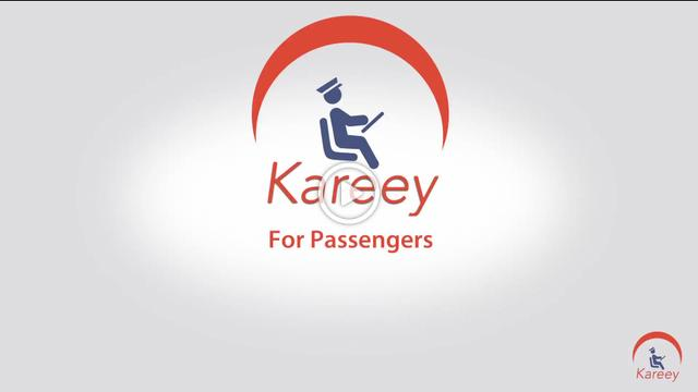 Kareey Passenger app video